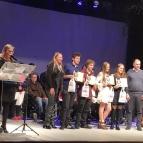 Alunos recebem o prêmio Reconhecimento Juvenil