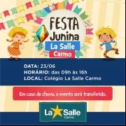 Festa Junina: confira o cronograma das apresentações