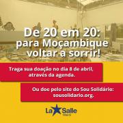 Campanha de solidariedade à Moçambique