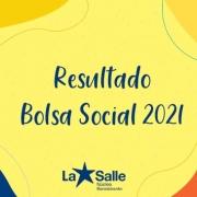 Resultado: Bolsa Social 2021
