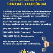 Modernização da Central Telefônica