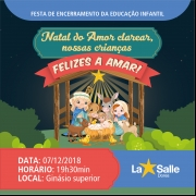 Festa de Encerramento da Educação Infantil