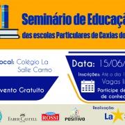 VI Seminário de Educação das Escolas Particulares de