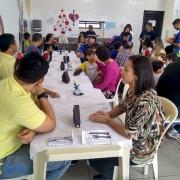 Famílias almoçam no Turno Integral