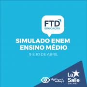 Ensino Médio realiza Simulado ENEM da FTD
