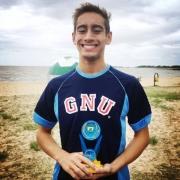 Estudante antoniano é destaque esportivo na natação