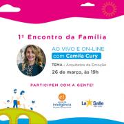 26/3: 1º Encontro da Família: ao vivo e online