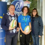 Ensino Fundamental e Médio conhecem o Touch Rugby