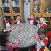 Educação Infantil no Laboratório de Ciências
