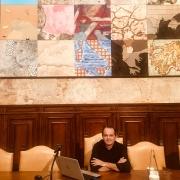 Ir. Jackson Bentes palestra na Universidade de Viena