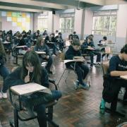 Alunos realizam Olimpíada Brasileira de Matemática