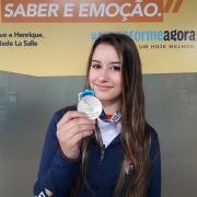 Aluna se classifica na Gymnasiade 2018