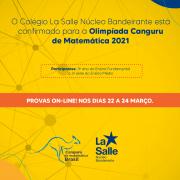 La Salle NB inscreve alunos na Olimpíada Canguru