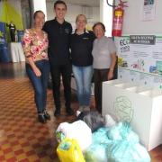 Arrecadações são entregues a projeto de reciclagem