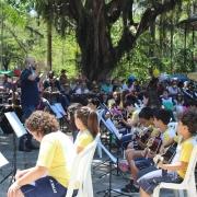 Orquestra La Salle Abel no Campo de São Bento