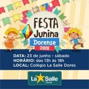 Vem aí a Festa Junina Dorense 2018