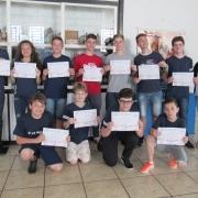 Medalhista e certificados na OBA recebem diplomas