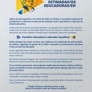 Dia do Educador!