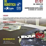 Inscrições abertas: 3º Desafio de Robótica RoboLab