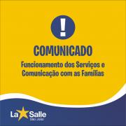Funcionamento dos Serviços e Canais de Comunicação