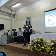 Professora representa o Colégio em fórum nacional