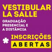 Abertas as inscrições para o Vestibular La Salle