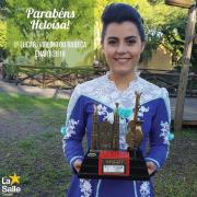 Aluna Lassalista premiada no ENART 2018