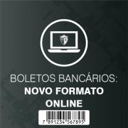 Boleto Bancário: novo formato ONLINE