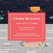 PROJETO CLUBE DO LIVRO - 8° E 9°ANOS