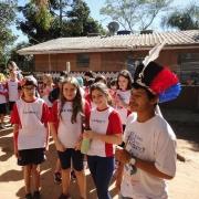 5º ano/EF vivencia cultura indígena em aldeia