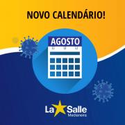 Calendário Escolar reformulado seguindo orientações