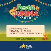 Prepare-se! Vem aí a Festa Junina Dorense 2019