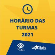 Confira os horários das aulas para 2021