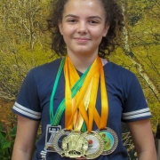 Aluna Lassalista no Campeonato Brasileiro de Judô