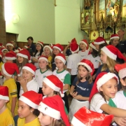 Ação de Graças emocionou com cânticos natalinos