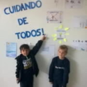TURMA DO 1°ANO, 112 - CUIDANDO DE TODOS