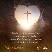 Mensagem de Páscoa do La Salle Santo Antônio