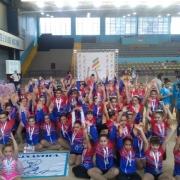 Ginástica Rítmica conquista 1º lugar em Copa Escolar