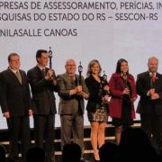 Unilasalle Canoas recebe Troféu Bronze do PGQP