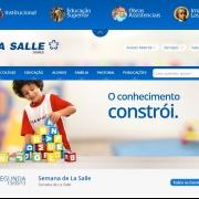 La Salle Carmo lança seu novo site