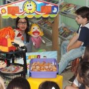 Biblioteca em festa para homenagear Monteiro Lobato
