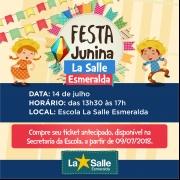 Festa Junina Esmeraldina 2018