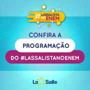 #LASSALISTA NO ENEM