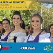 Visita da Rainha e Princesas Festa da Uva