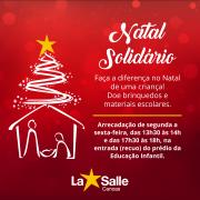 Participe do Natal Solidário