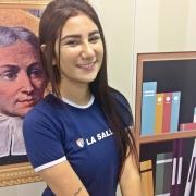 Estudante lassalista é selecionada para SINUS 2018