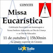 Missa Eucarística em homenagem a N. Srª. Aparecida