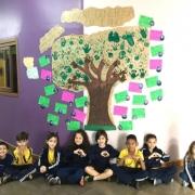 Turma constrói Árvore Generosa no Turno Complementar
