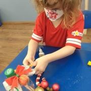 Atividades natalinas na Creche