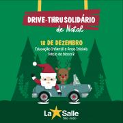 18/12: Participe do Drive-Thru Solidário de Natal